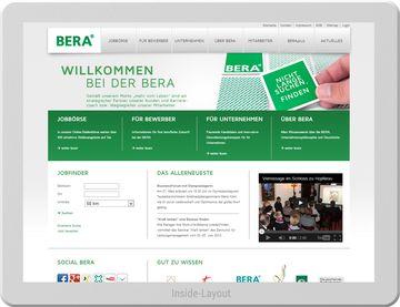 BERA GmbH - Website