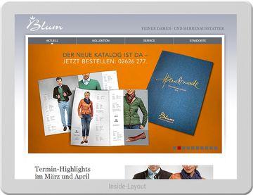 Blum Mode - Exklusive Website für exklusive Mode