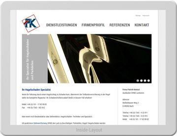 Patrick Kneissl - Hagelschadenspezialist - Website