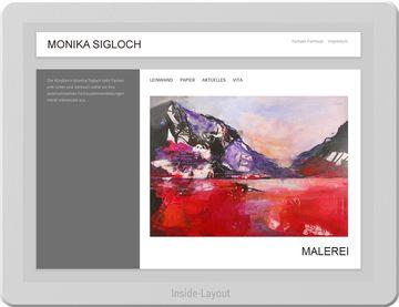 Monika Sigloch - Künstler Website