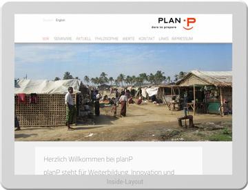 Website für planP