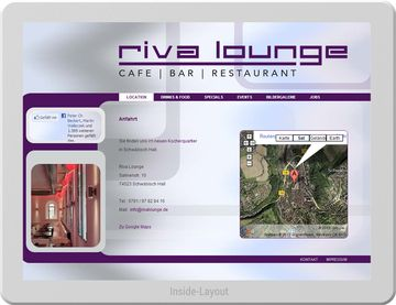 Riva Lounge - Chillige Website